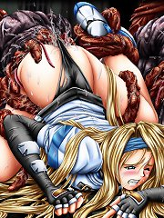 Bewitching honeys the rest ravished by tentacles